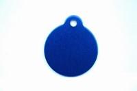 Cat Tag medal blue 27 mm