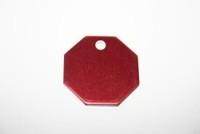 Katzenmarke Oktagon rot