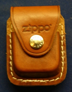Zippo belt  pouche braun