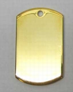 Pendant ID XL gold colour