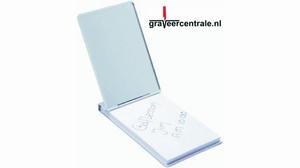 Notepad aluminium