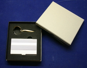 Cardbox with Keychain