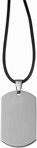 Kettinghanger RVS TAG xl hanger met rubberen ketting