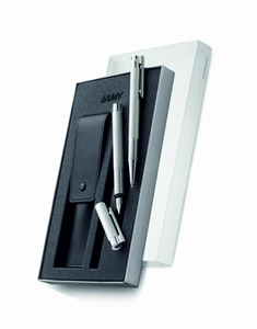 LAMY logo brushed set Ballpoint / Fountain pencil  M size