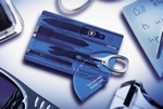 Victorinox Swisscard blauw
