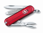 Victorinox classic SD red rubin 58 mm