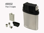Hip flask primus 7 OZ 3 Cups