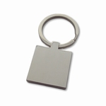 Keychain square stainless