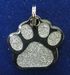 Dog ID tag Dogs paw glamour