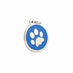 Dog Tag: Blue Paw