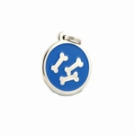 Dog Tag: Blue  Bone